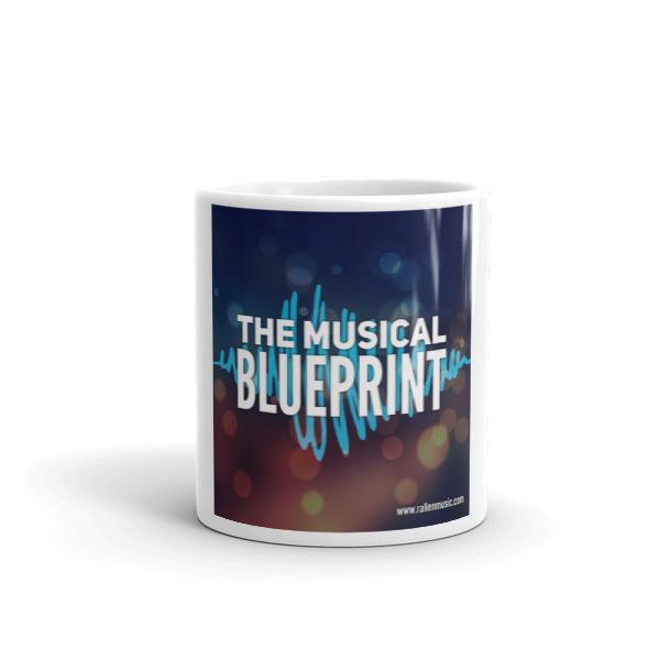 Musical blueprint coffee mug robert h allen music malvernweather Images